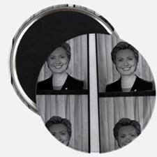 """Hillary Photo Booth 2.25"""" Magnet (10 pack)"""
