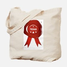 Funny Red texas seal Tote Bag