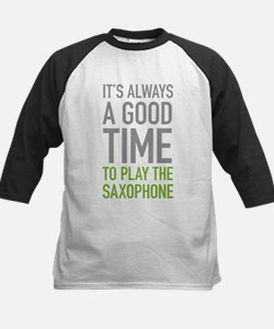 Play The Saxophone Baseball Jersey