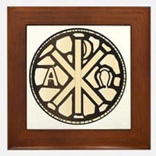 Cute Rho Framed Tile