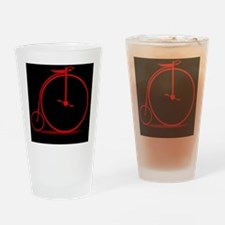 Cool Penny farthing bike Drinking Glass