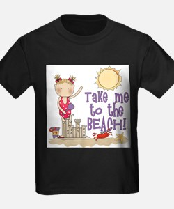 To the Beach (Girl) T-Shirt