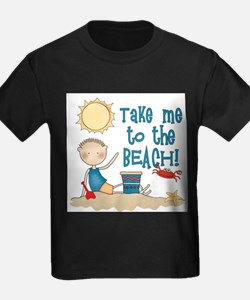 To the Beach (Boy) T-Shirt