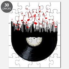 Cute Baseball player pop art Puzzle