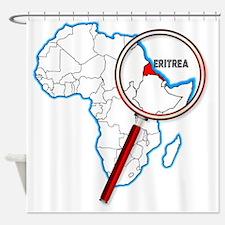 Cute Eritrea Shower Curtain