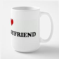 I Love MY SEXY BOYFRIEND Mugs