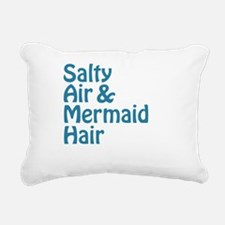 Salty Air Mermaid Hair Rectangular Canvas Pillow
