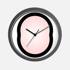 Wankel Engine Combustion Chamber Wall Clock