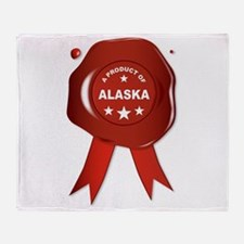 A Product Of Alaska Throw Blanket