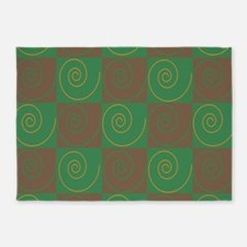 Woodsy Mouse Tails 5'x7'Area Rug