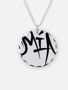 MIA Graffiti Necklace