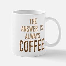 Coffee Answer Mugs