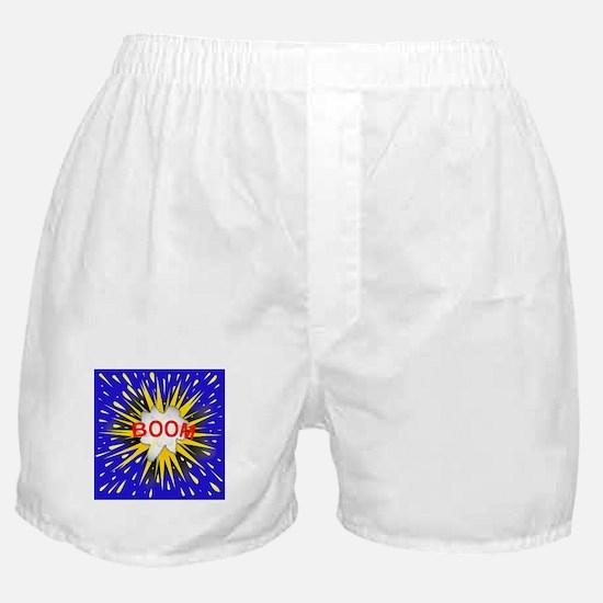 Boom Cartoon Bubble Boxer Shorts
