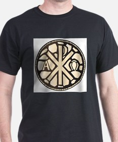 Alpha Omega Stain Glass T-Shirt