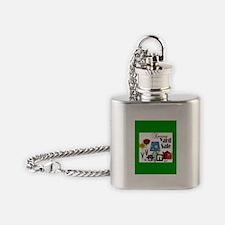 Cute Yard sale Flask Necklace