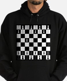First Move Chess Game Hoodie (dark)