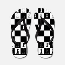 First Move Chess Game Flip Flops