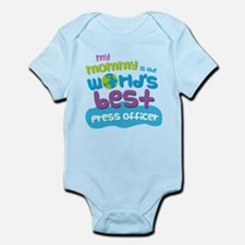 Press Officer Gift for Kids Infant Bodysuit