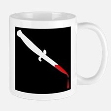 Flick Knife With Blood Mugs