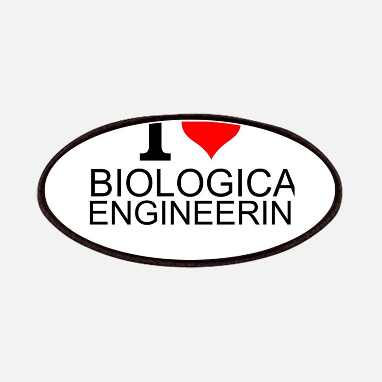 I Love Biological Engineering Patch