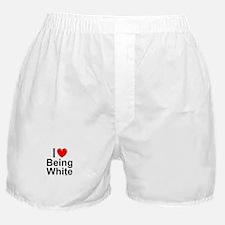 Being White Boxer Shorts