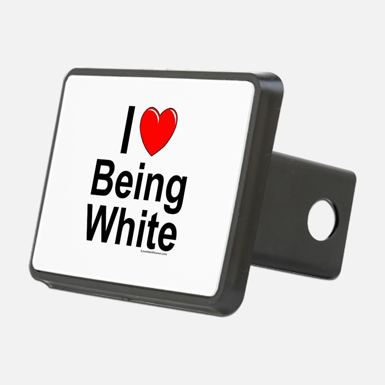 Being White Hitch Cover