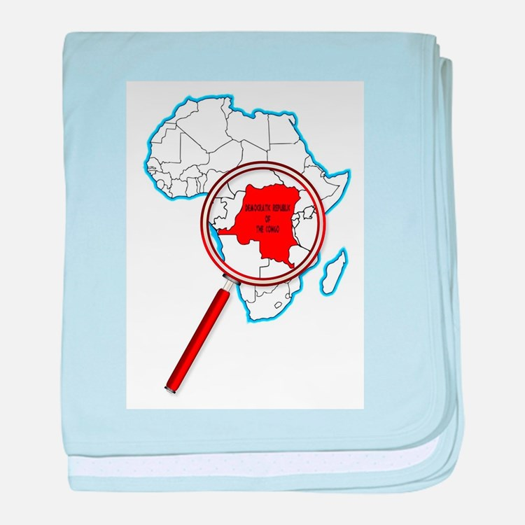 Democratic Republic of the Congo Unde baby blanket
