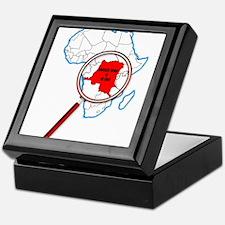 Democratic Republic of the Congo Unde Keepsake Box