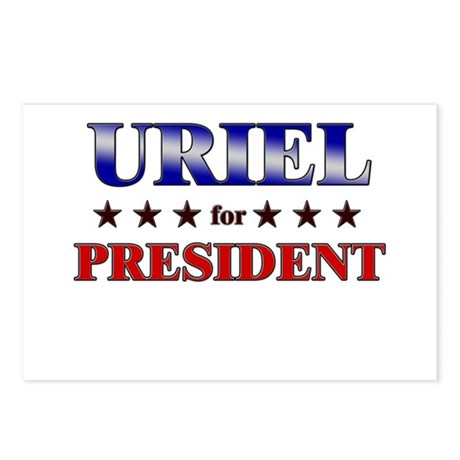 URIEL for president Postcards (Package of 8)