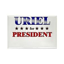 URIEL for president Rectangle Magnet