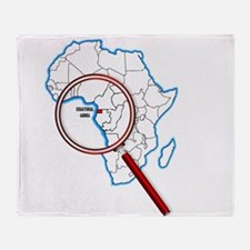 Equatorial Guinea Under A Magnifying Throw Blanket