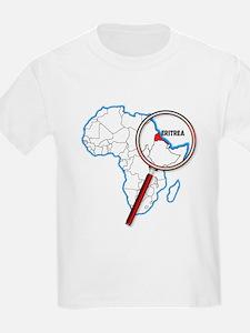 Eritrea Under A Magnifying Glass T-Shirt