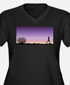 Running Plus Size T-Shirt