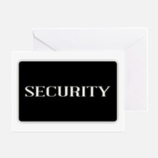 Funny Security Greeting Card