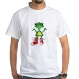 Frogs Mens Classic White T-Shirts