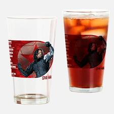 Bucky Brainwash Code - Captain Amer Drinking Glass
