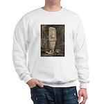 Copan Stele D Mayan Sweatshirt