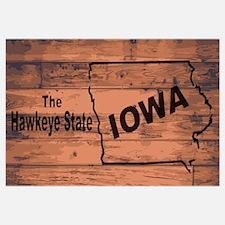 Cute Iowa hawkeyes Wall Art