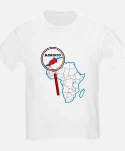 Morocco Under A Magnifying Glass T-Shirt