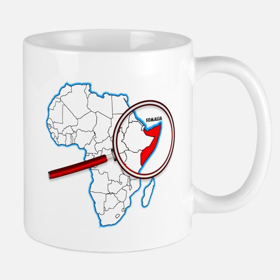 Somalia Under A Magnifying Glass Mugs