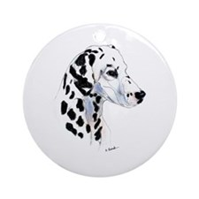 Dalmatian Keepsake (Round)