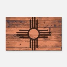 Cute New mexico flag Rectangle Car Magnet