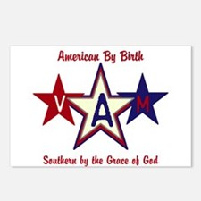 Patriotic Personalize Postcards (Package of 8)