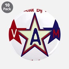 "Patriotic Personalize 3.5"" Button (10 pack)"