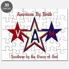 Patriotic Personalize Puzzle