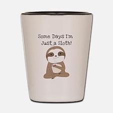 Cute Just a Sloth Shot Glass