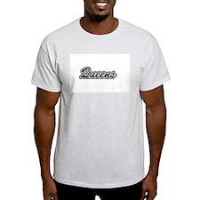 Queens Ash Grey T-Shirt