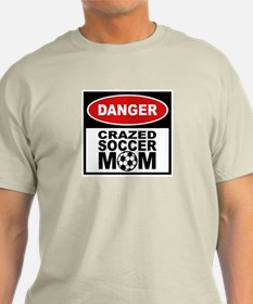 Crazed Soccer Mom T-Shirt