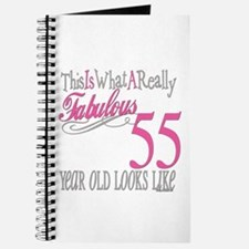 55th Birthday Gifts Journal