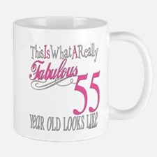 55th Birthday Gifts Mug